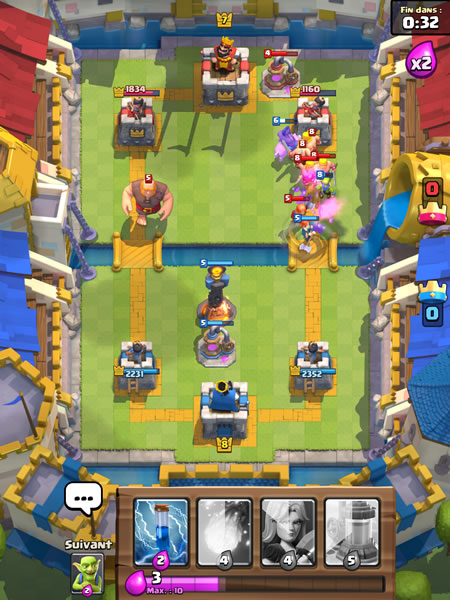 Ar ne 7 ar ne royale decks strat gies et conseils for Clash royale meilleur deck arene 7